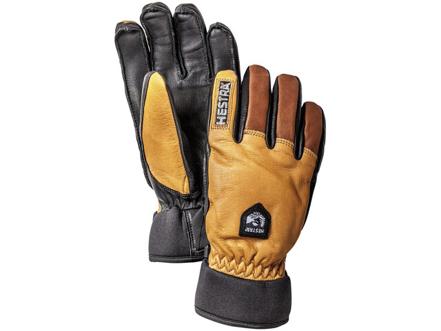 Hestra Army Leather Wool Terry Guantes, cork/brown